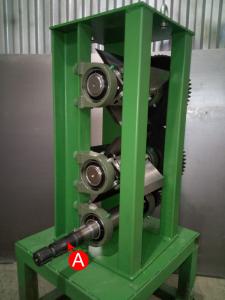 А - Приводной вал комбинирован со шлицами для привода от ВОМ и привода от электро или бензо-двигателя.